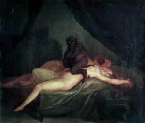 Demonios-en-nuestras-pesadillas-por-Nicolaj-Abraham-Abildgaard